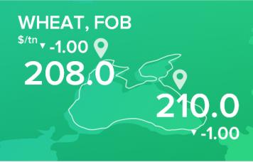 EXP.IDK.RU. Пшеница. Цены FOB. Данные на 27.05.2019